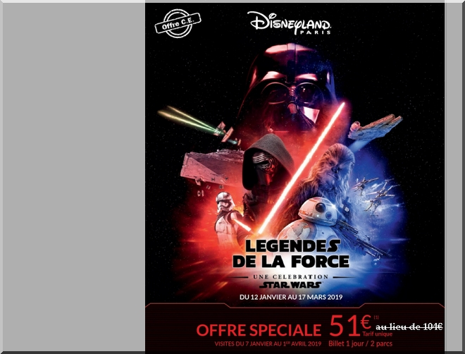 reduction billets disney