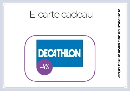 reduction e-carte cadeau decathlon