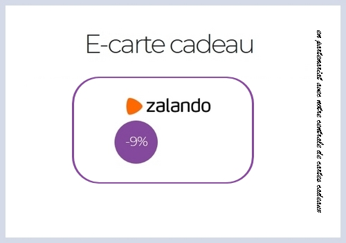 reduction zalando carte cadeau